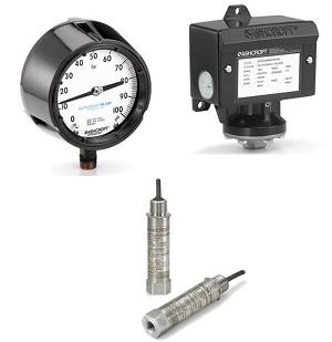 Manomètres des pression et de température